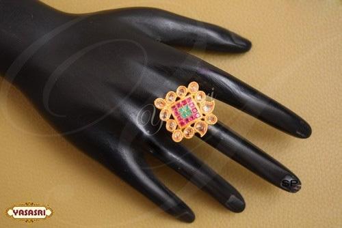 Ruby Stone Finger Ring