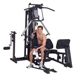G2B Bi-Angular Home Gym