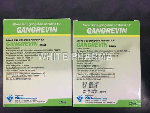 Anti Gas gangrene Injection