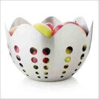 Silver Stainless Fruit Bowl