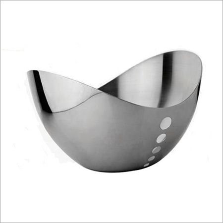 Round Steel Fruit Bowls