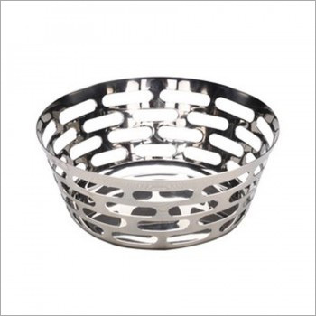 Stylish Steel Fruit Bowls