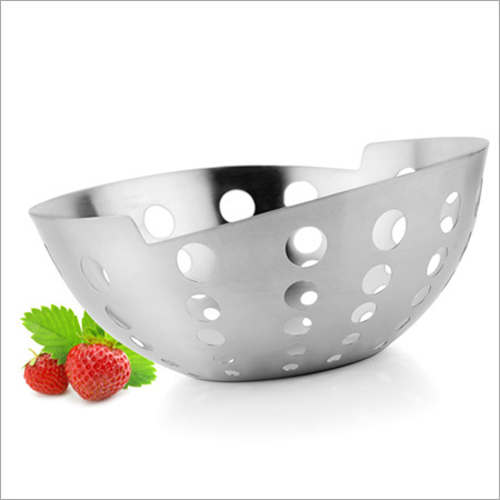 Steel Fruit Bowls