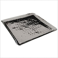 Stainless Steel Designed Square Tray