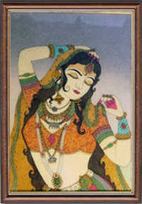 Lady GemStone Paintings