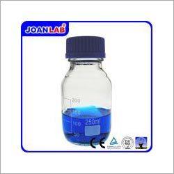Reagent Bottle with Blue Crew Cap