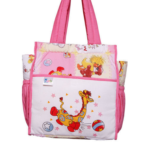 MOTHER BAG COTTON 4 PINK