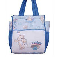 MOTHER BAG COTTON 4 BLUE