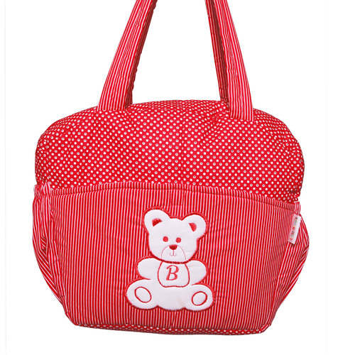 MOTHER BAG COTTON 2 SALI DOTS