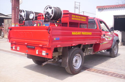 Small Capacity Fire Vehicles Truck ( 1Ton to 5Ton)