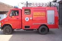Small Capacity Fire Vehicles Truck