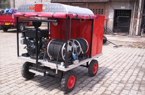 Fire Fighting Portable Pumps And Trailer Unit