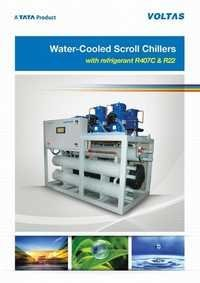 Water Cooled Scroll Chillers