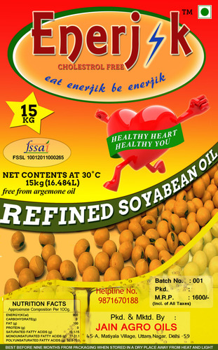 Nutrilive Soyabean Oil - Exporter,Supplier,New Delhi,India