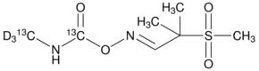 Aldicarb-(N-methyl-13C,d3, carbamoyl-13C) sulfone