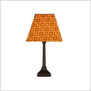 Wooden Table Lamp (Brown)