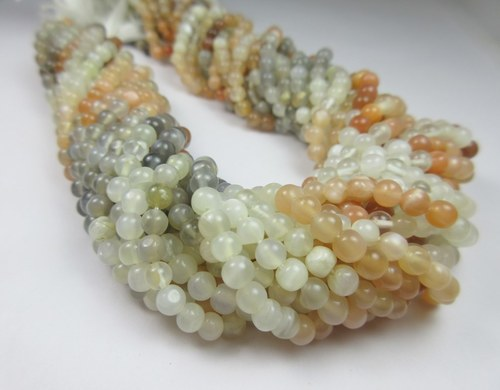 Multi Moonstone 3-4mm 13 Inch Beads Strand