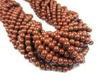 13 Inch Strand Red Jasper 3-4mm Beads