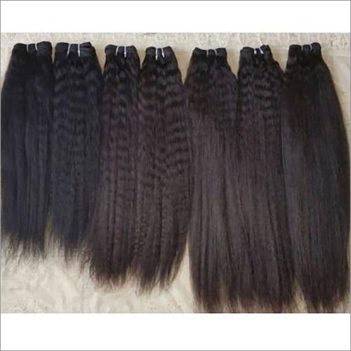 Temple Kinky Straight Human Hair