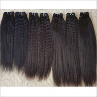 Temple Kinky Straight Human Hair
