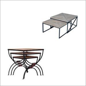Wood Nesting Table