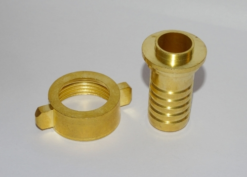 Brass Wing Nut Nipple Set