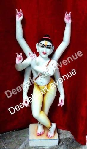 Marble Chetanya Mahaprabhu Statue