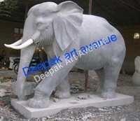 Marble Elephent Statue