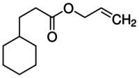 Allyl cyclohexanepropionate
