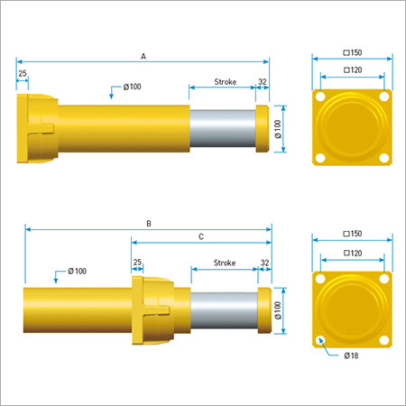 Hydraulic Gas Buffers