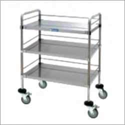 Steel Hospital Trolley