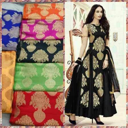 Handloom Kimkhab Fabric