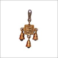 Brass Ganesha Ringing Bell