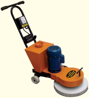 Single Disc Scrubber Drier