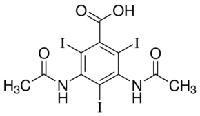 Amidotrizoic acid