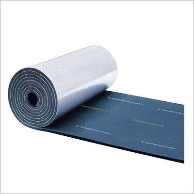 Aluminum Foil Clad Rubber Foam Sheet