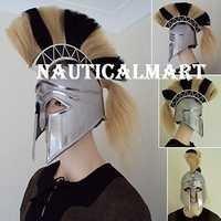 18 Gauge Medieval Greek Corinthain Armor Helmet