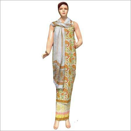 Ladies Block Printed Cotton Suits