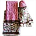 Block Printed Cotton Suits