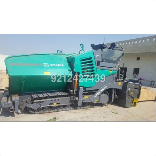 1800-3 vogele paver available on rent