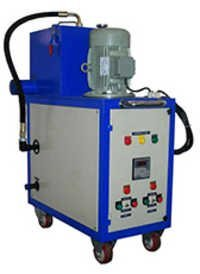 Centrifugal Oil Cleaning Assembly