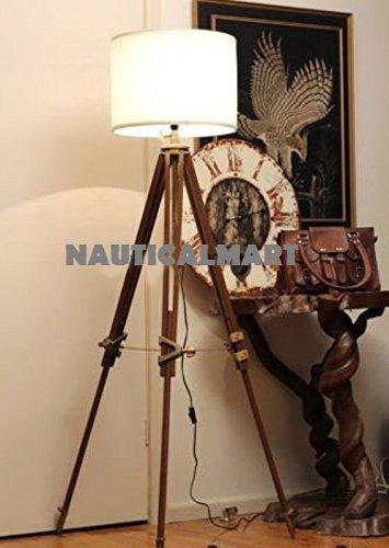 Nauticalmart Vintage Classic Tripod Floor Lamp