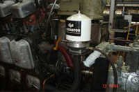 Locomotive Centrifugal Oil cleaner pump