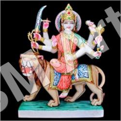 Marble Maa Durga Statues