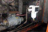 Locomotive Oil Cleaner