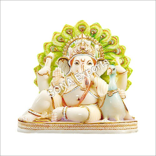 Beautiful Marble Ganesha Idols