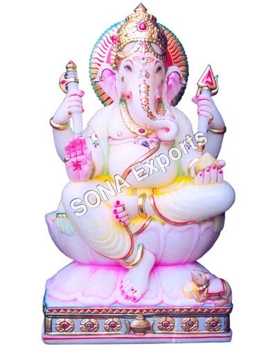 Makrana Marble Ganesha Statue