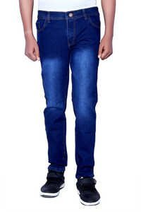 LONDON LOOKS DARK BLUE REGULAR FIT JEANS