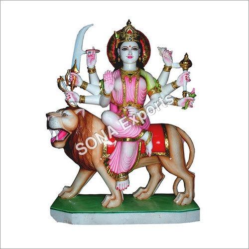 Makrana Marble Durga Murti