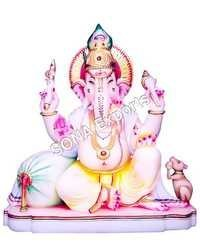 Marble Ganesha Murti From India